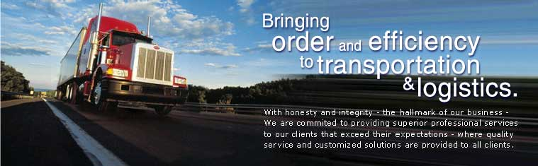 Bringing order and efficiency to transportation and logistics